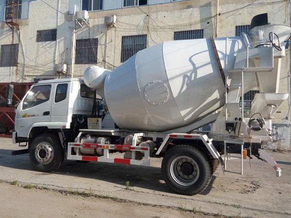 small concrete mixer trailer