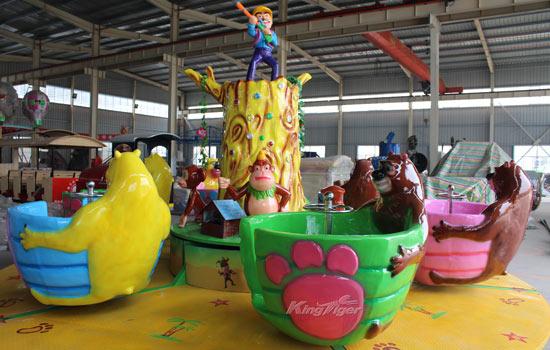 Kingtiger Spinning Teacup Ride