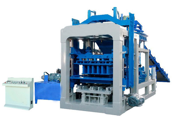 QT6-15 automatic concrete brick machine for sale