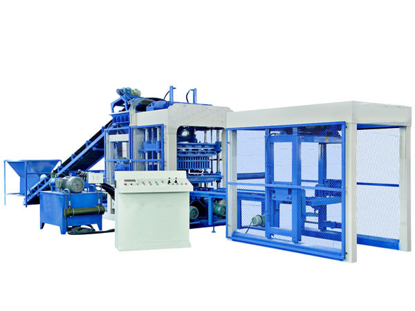 QT8-15 automatic concrete brick machine