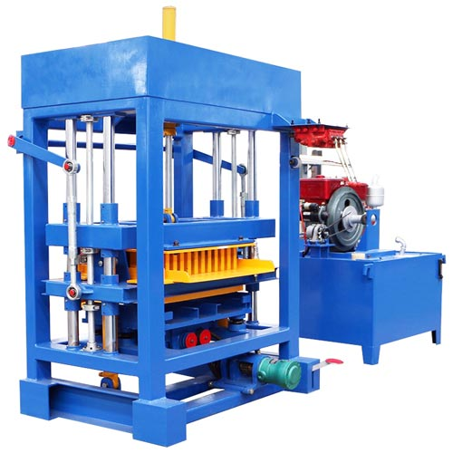 QT8-15 concrete block making machine
